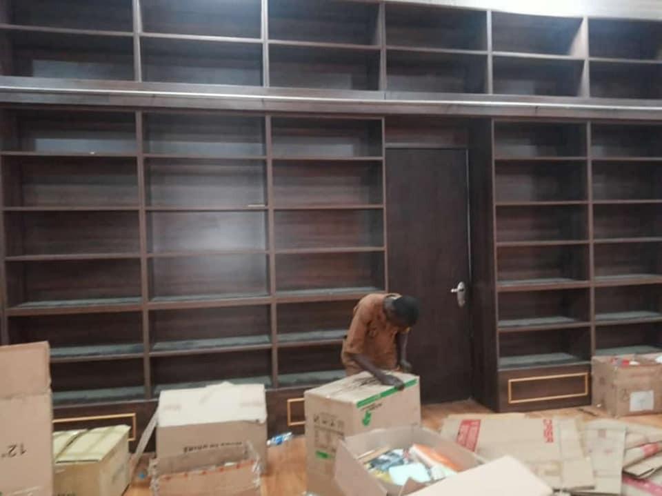 Dethroned Emir, Sanusi Lamido Sanusi's N200m Library Evacuated (Photos)