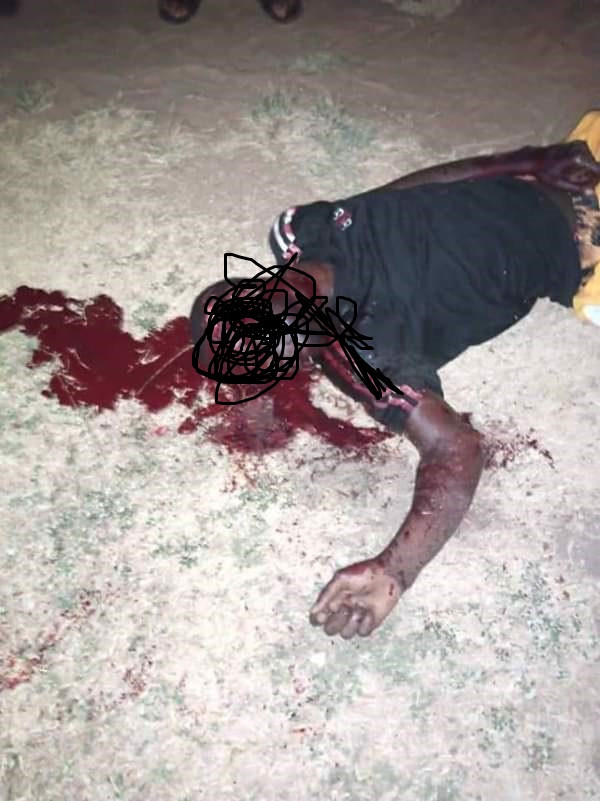 Benue State University Student WASTED By Suspected Cultists (Graphic Photos)
