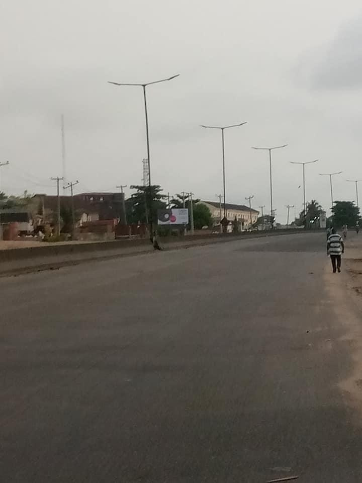 See Photos Of Lagos And Abuja Streets During Lockdown