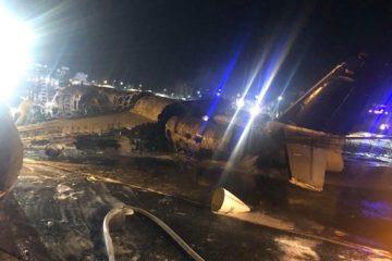 Aeroplane Carrying Coronavirus Materials & Patient Crashes In Manila (Video)