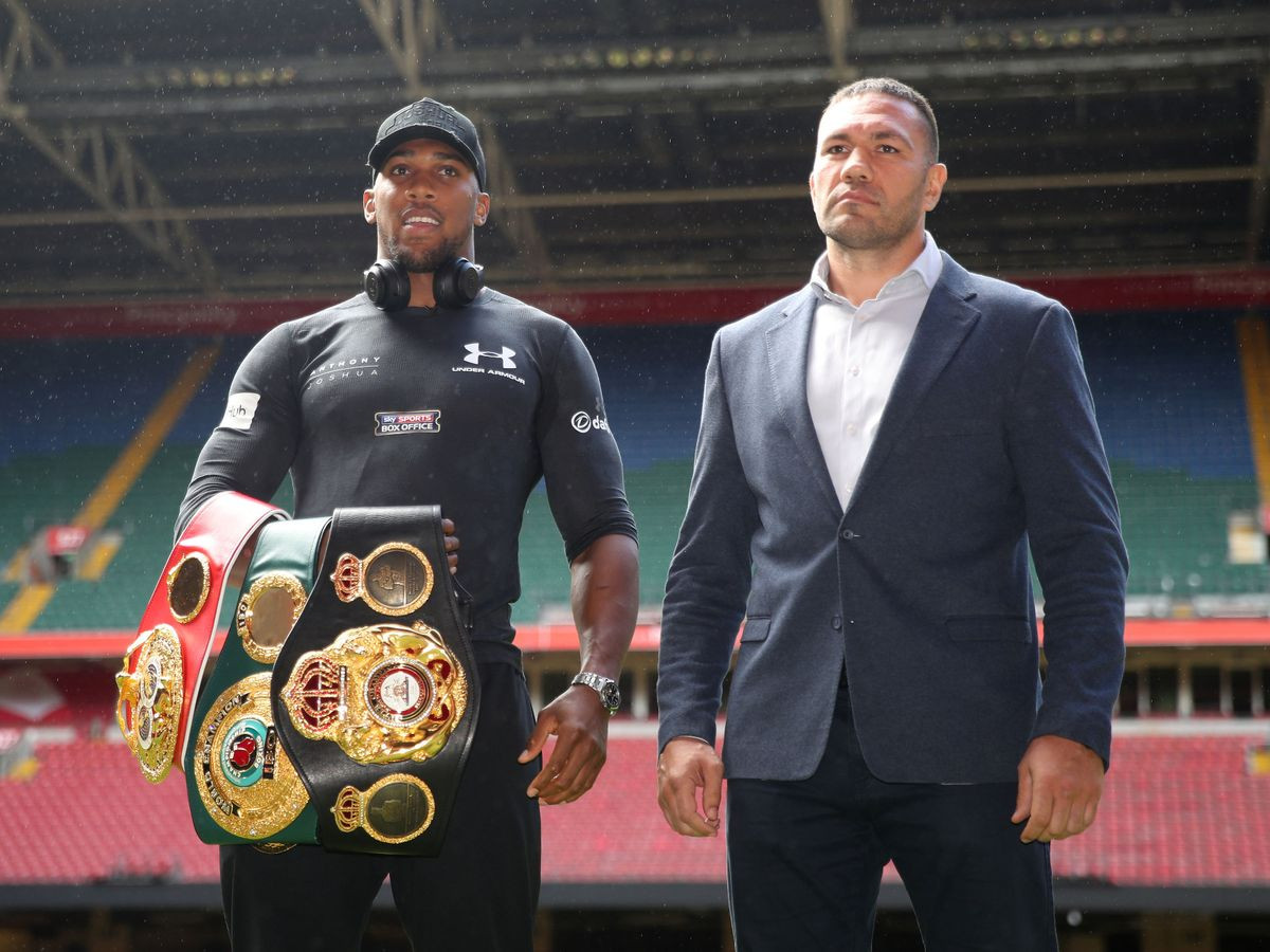 Anthony Joshua And Kubrat Pulev's Fight To Hold At Tottenham Hotspur Stadium In June