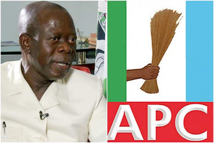APC Will Bounce Back Stronger - Adams Oshiomhole