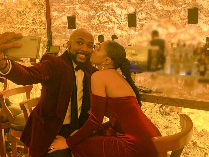 Aww! See Adesua Etomi's Sweet Message To Banky W On His Birthday