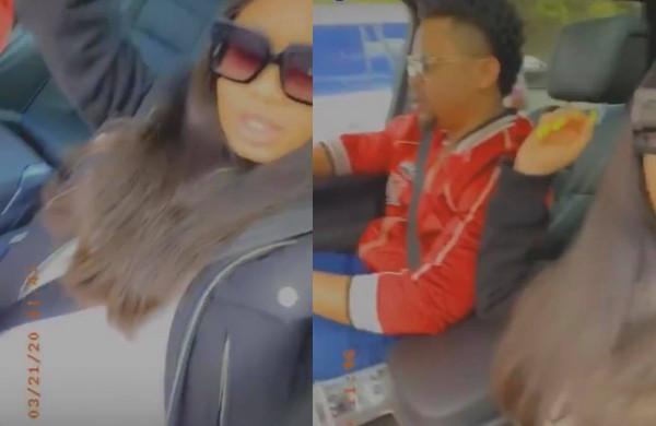 BBNaija's Nina Finally Shows Off Her Husband, Baby Bump (Video)