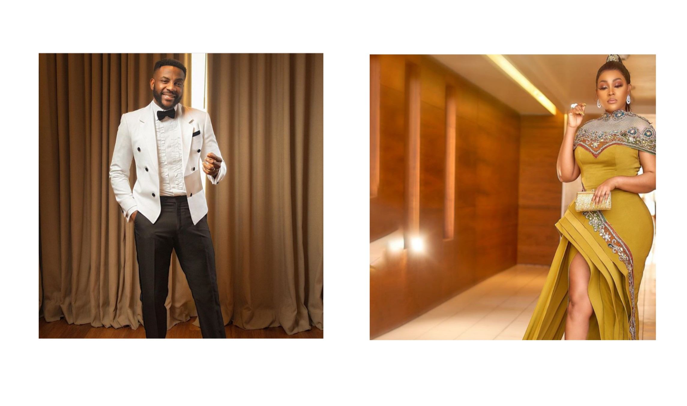 Celebrities' Attire To 7th Edition Of AMVCA