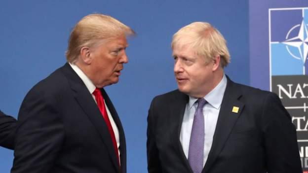 Coronavirus: President Trump Phoned Johnson After UK PM Tested Positive