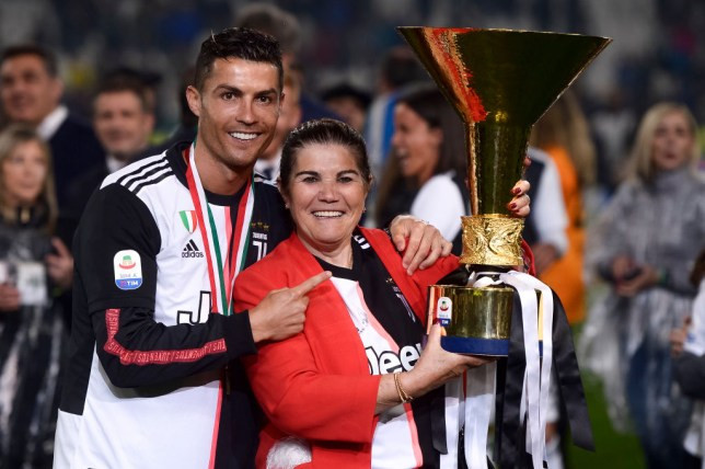 Cristiano Ronaldo's Mum Rushed To Hospital After Suffering Stroke