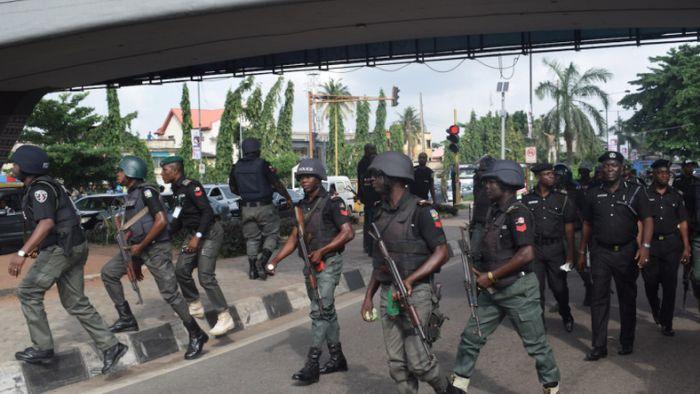 Masqurade ARRESTED For Defying Pubic Gatherings Ban In Ogun