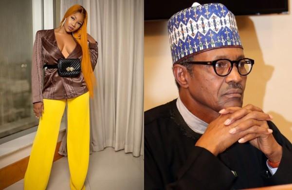 Don't Address Nigerians Only On Twitter - BBNaija's Tacha Frags Buhari (Video)