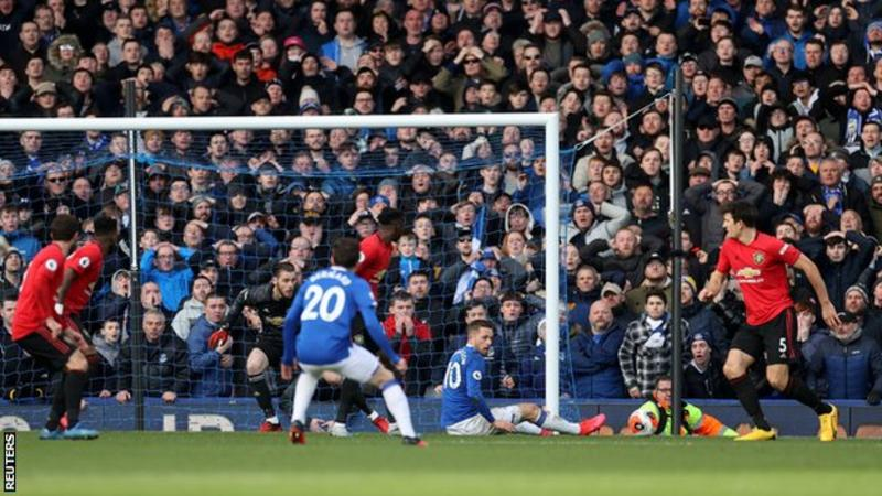 Everton 1 – 1 Man United