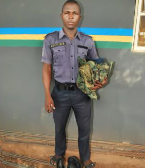 Fake Military Man Arrested In Lagos (Photo)
