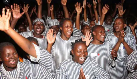 Female prisoners beg for sexual intimacy