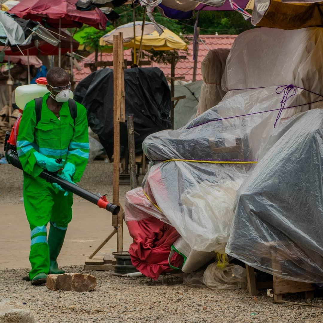 Ghana Fumigate Streets, Markets Over Coronavirus