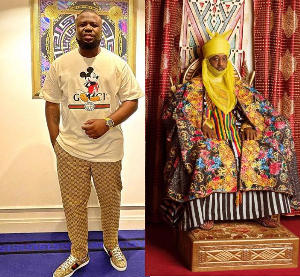 Hushpuppi Reacts To Sanusi's Dethronement As Emir of Kano