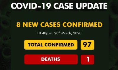 Nigeria's Coronavirus Cases Hits 98