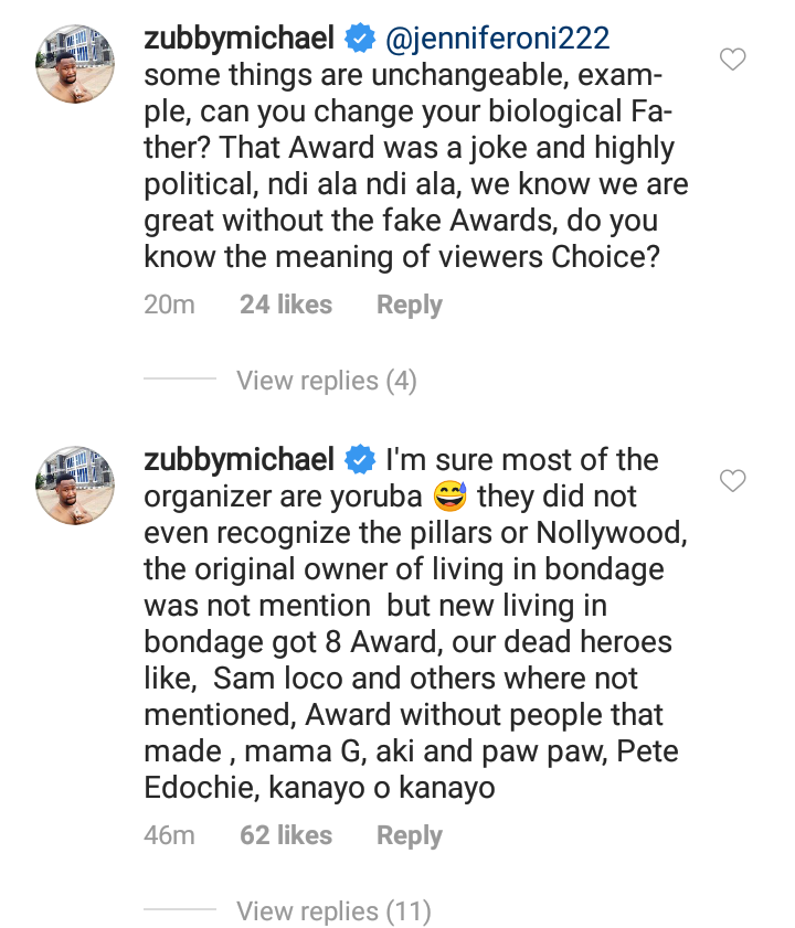 zubby michael slams organizers of amvca