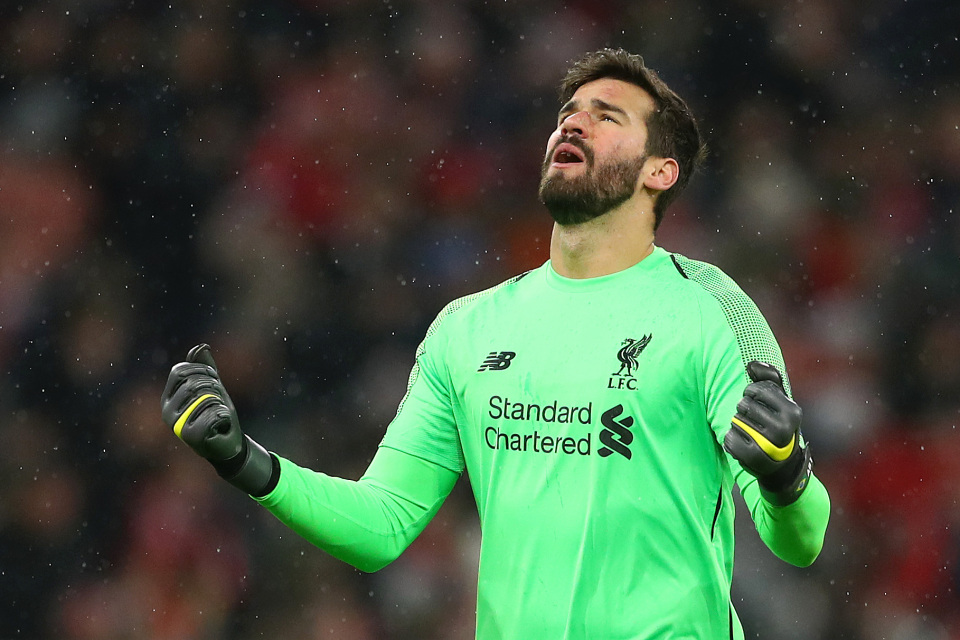 Liverpool's Goalkeeper, Allison To Miss Champions League Game Against Atletico Madrid