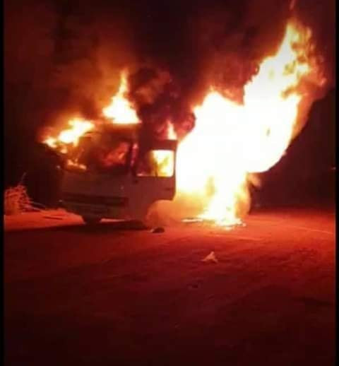 Lobi Stars Team Bus Catches Fire, Players Injured