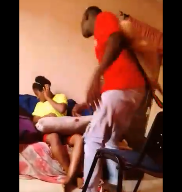 Man Beats Up His Girlfriend After She Told Him She Is Pregnant (Video)