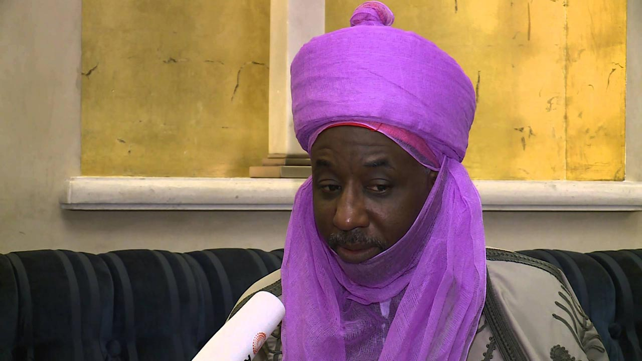 Dethroned Emir Of Kano, Sanusi, Arrested, Banished To Nasarawa State