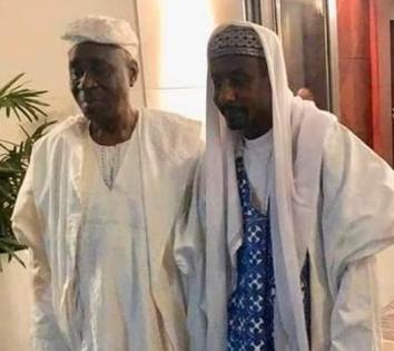 Oba of Lagos Visits Dethroned Emir of Kano, Sanusi Lamido Sanusi (Photos)