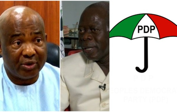 PDP Want Oshiomhole Removed From Office – Hope Uzodinma