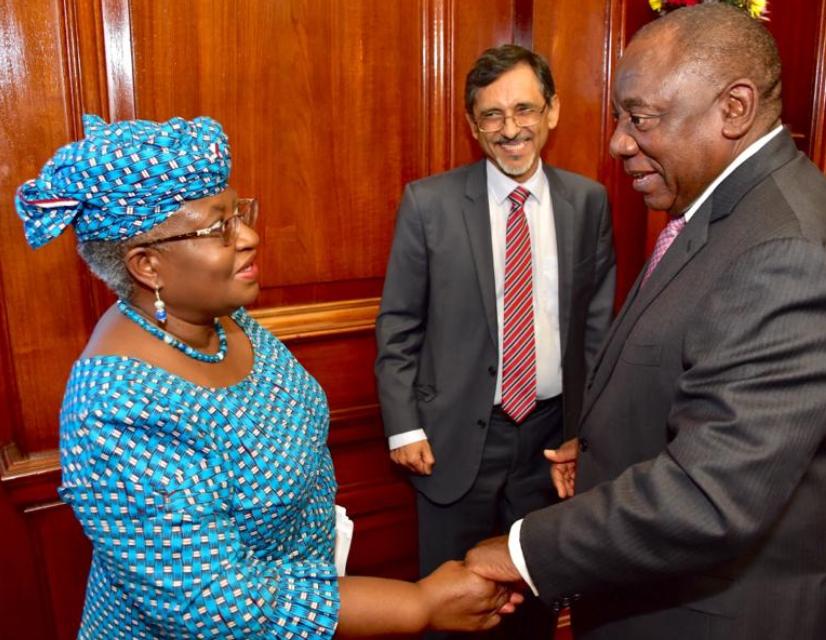 South Africa Appoints Ngozi Okonjo-Iweala Member Of SA Presidential Economic Council (Photos)