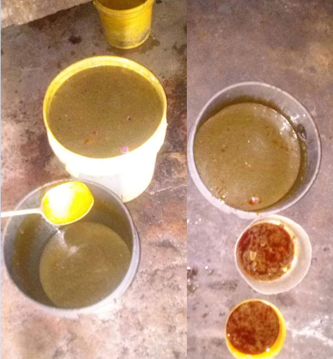 TOO BAD! See Poor Watery Soup Allegedly Served To Inmates In Kaduna Prison (Photos)