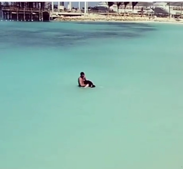 TV Star, Alex Brovarnik Saves Man From Drowning In The Bahamas (Video)
