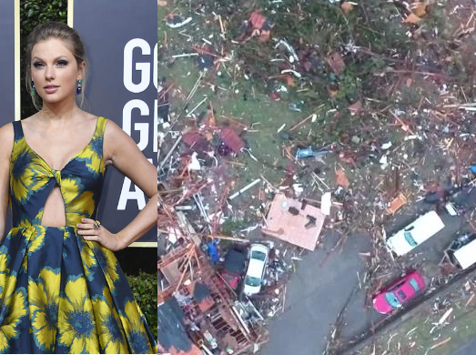 Taylor Swift Gives $1 Million For Tennessee Tornado Relief