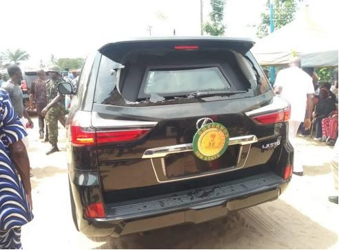 Governor Uzodinma Attacked In Imo, Bullet-Proof Car Damaged