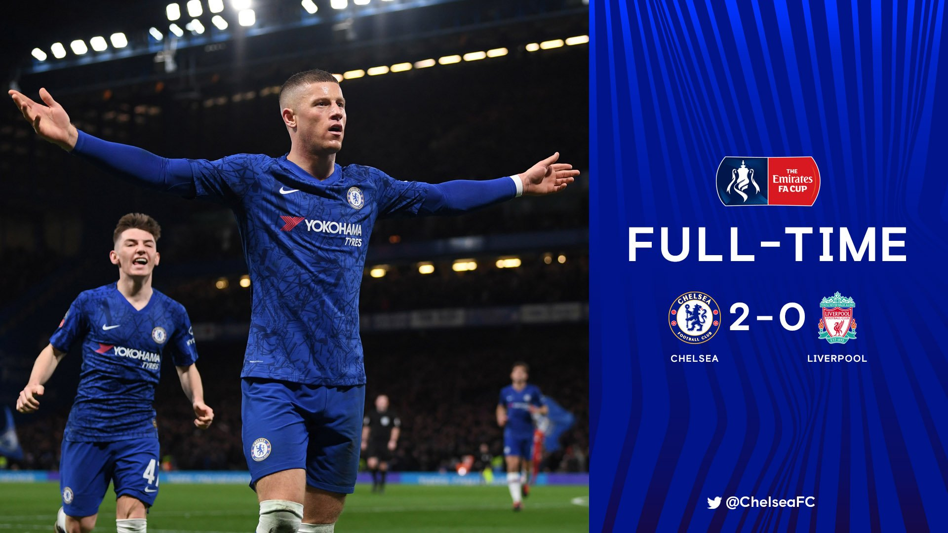 VIDEO: Chelsea 2–0 Liverpool – 2019/20 FA Cup Highlight