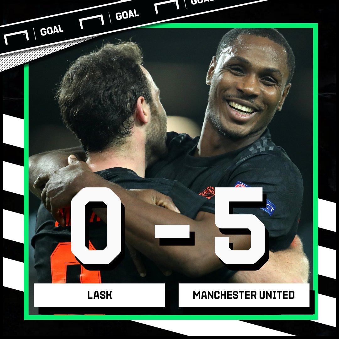 VIDEO: LASK 0–5 Man United – Europa League Highlight