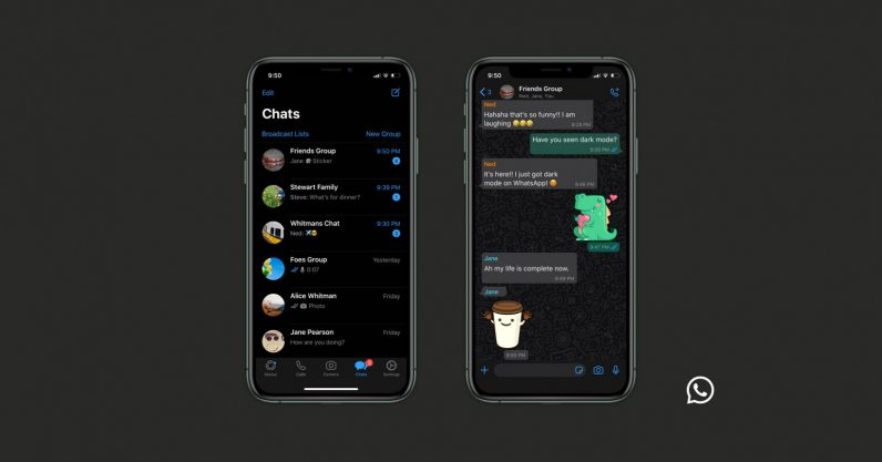 WhatsApp Rolls Out Dark Mode For Android And IOS Users... See How To Activate