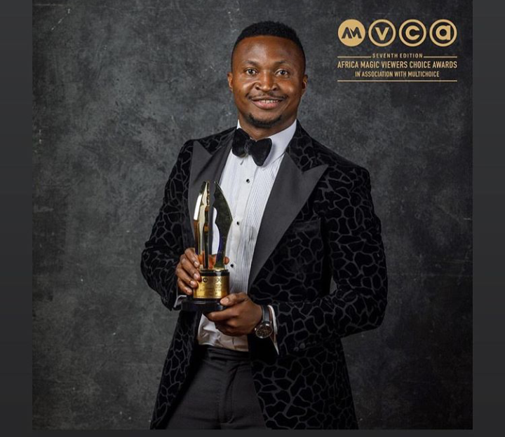 Funnybone Tattoos His Mother's Name On His Wrist, Dedicates AMVCA To Her (Photos)