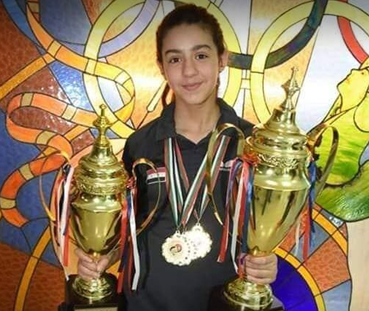 11-Year-Old Syrian Table Tennis Player Hend Zaza Qualifies For Olympics 2