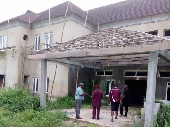 "See Photos Of Imo State Isolation Centres That Looks Like ""Evil Forest"" 9"