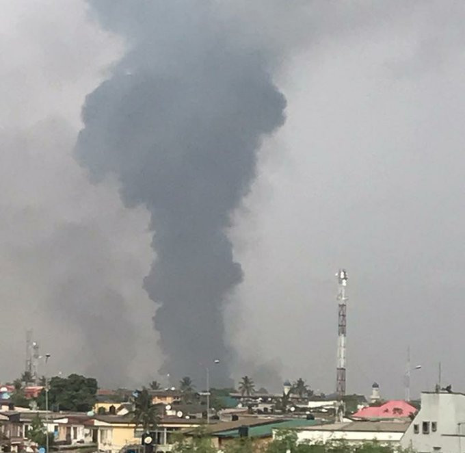NNPC Pipeline Explodes In Abule-Soba, Lagos (Photos/Video)