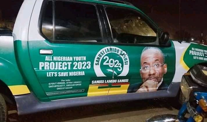 2023 Campaign Photos Of Dethroned Emir Sanusi Surfaces