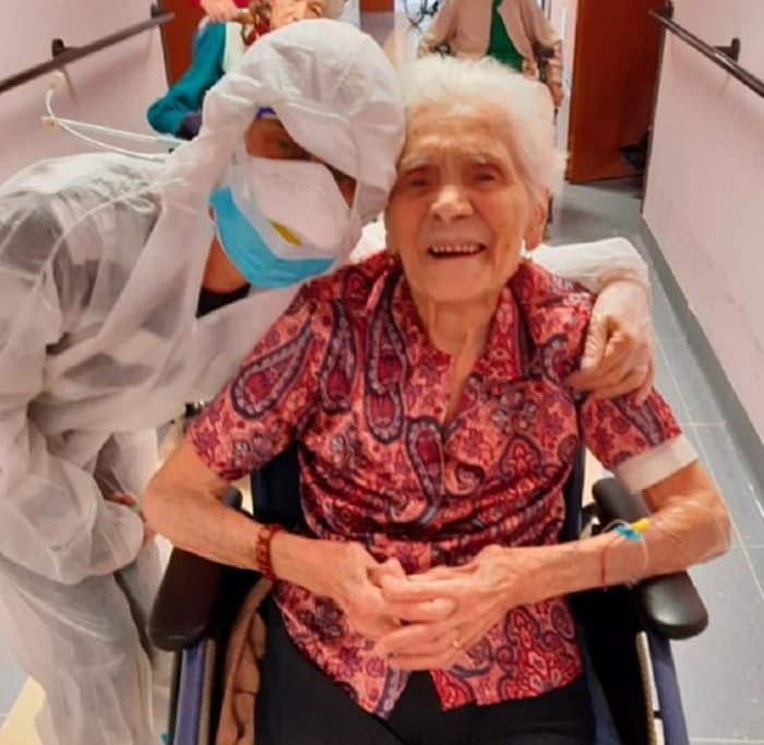 104 Year Old Woman Is World's Oldest Person To Survive Coronavirus