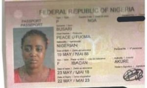 Lebanese puts Nigerian woman up for sale on Facebook [PHOTO]