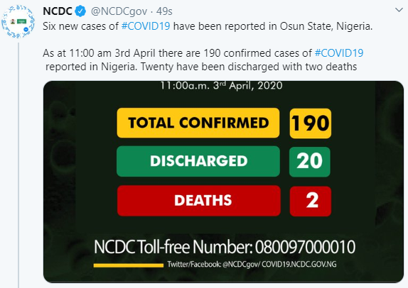 Nigeria Confirms Six New Cases Of Coronavirus In Osun 3