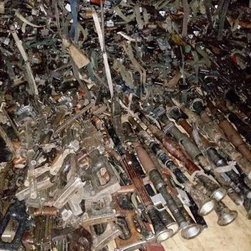 Chadian Army Recovers Arms From Boko Haram, Nigerian Army Hails Them (Videos/Photos)