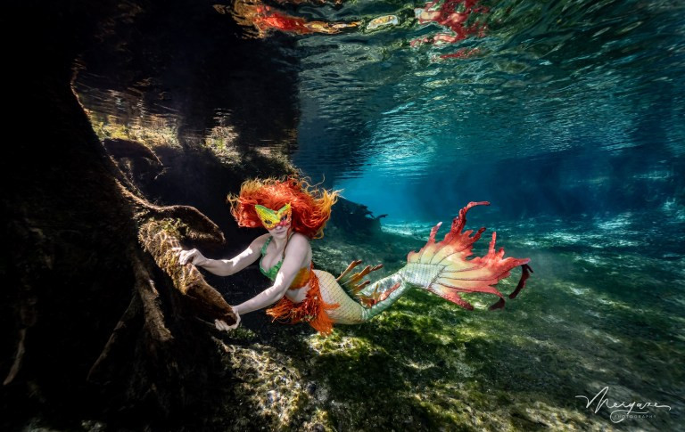 Student Spends $3,000 To Transform Into Real-Life Mermaid 5