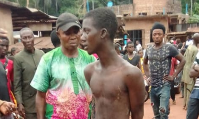 Young Man From Taraba Arrested In Enugu For Allegedly Raping 68-Year-Old Woman