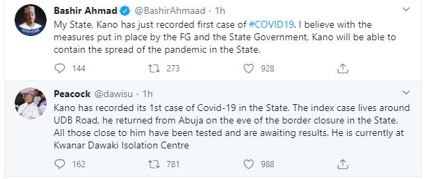 Kano State Records First Case Of Coronavirus