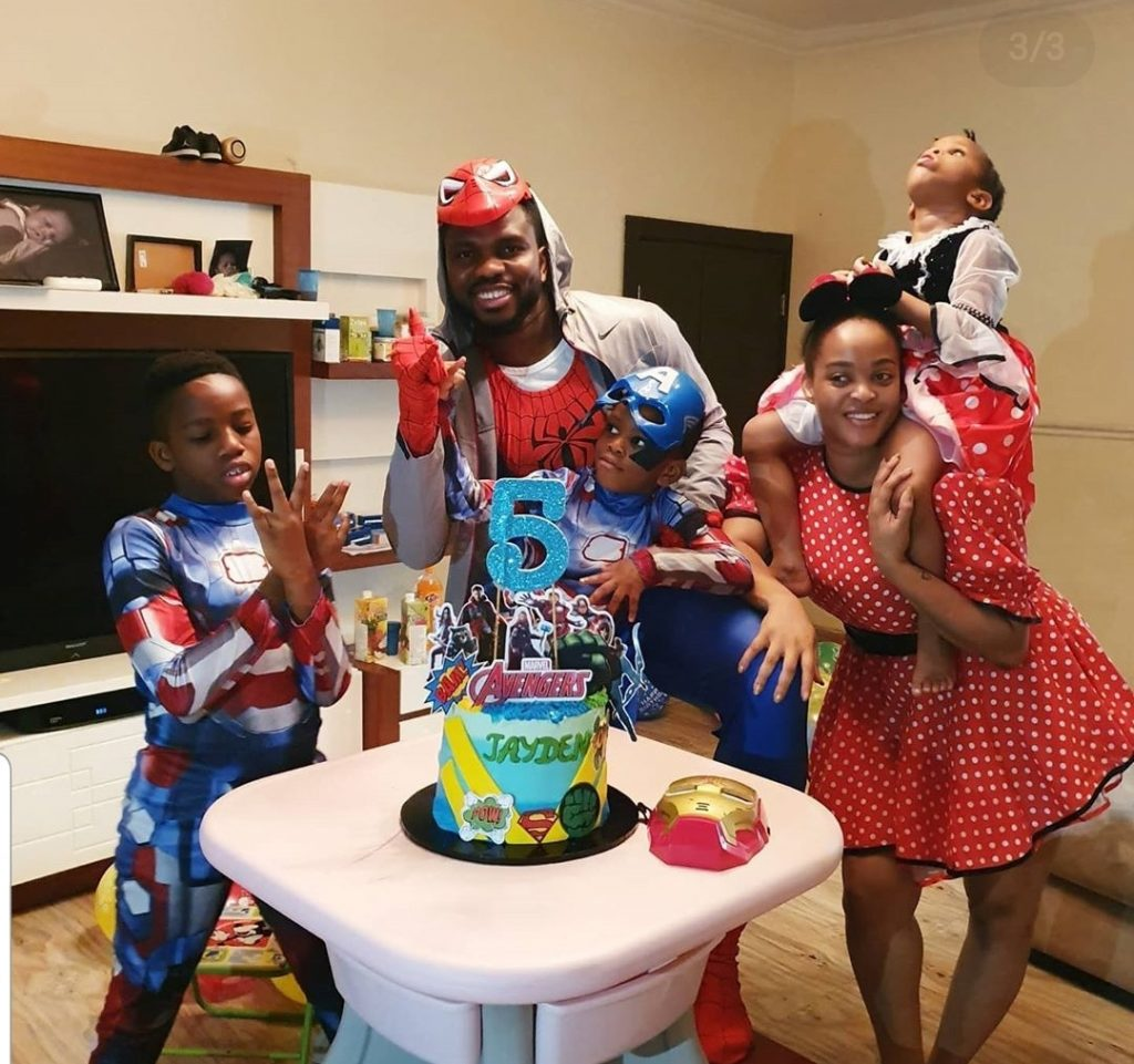 Joseph Yobo Pens Love Note To His Wife, Adaeze On Her 30th Birthday