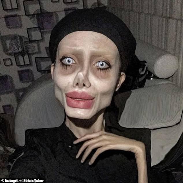 Angelina Jolie 'Lookalike' Sahar Tabar Has Contracted Coronavirus In Prison