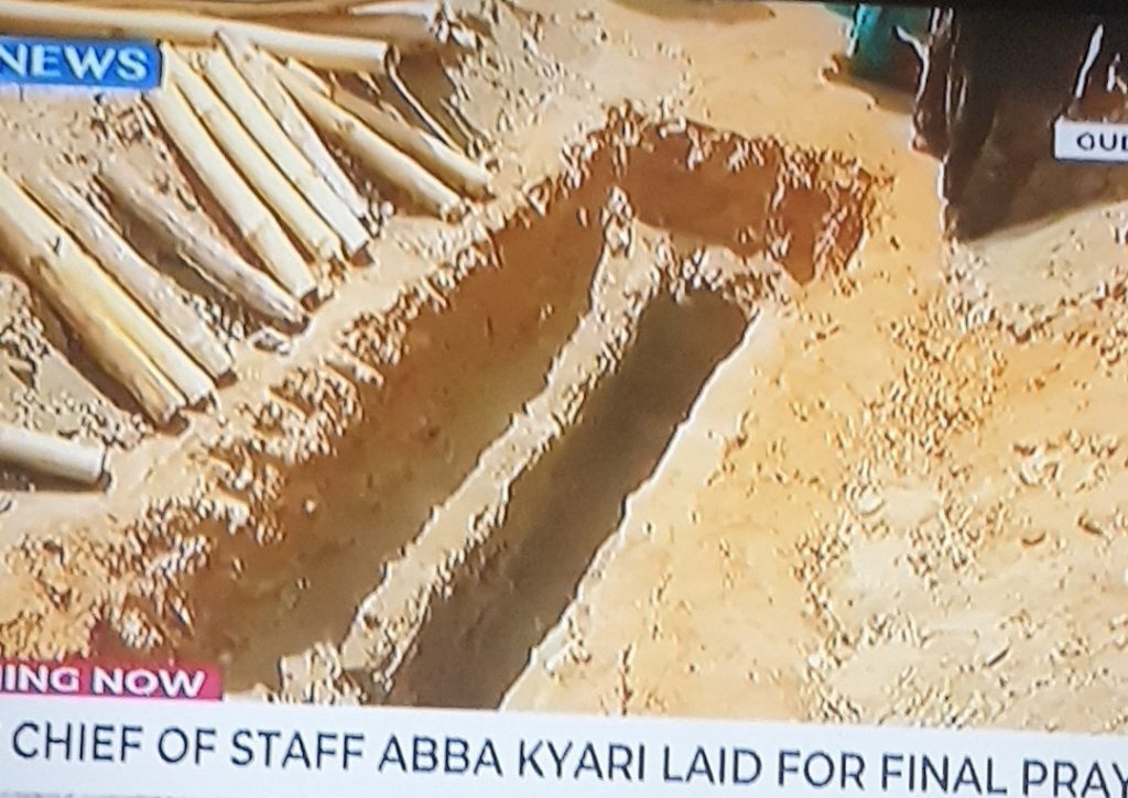 Photos From Former Chief of Staff to President Buhari, Abba Kyari's Burial 20