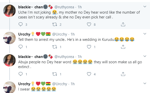 Lady Tells NCDC To Arrest Her Mum For Disobeying The Restriction Order In Abuja, To Attend A Wedding In Nasarawa